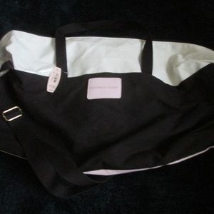 NWT - Victoria Secret - Black, White & Pink, Tote